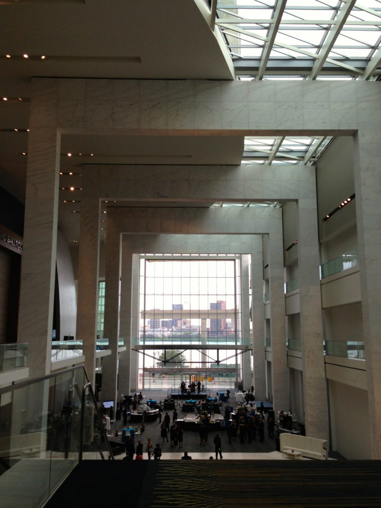 Cobo Center atrium