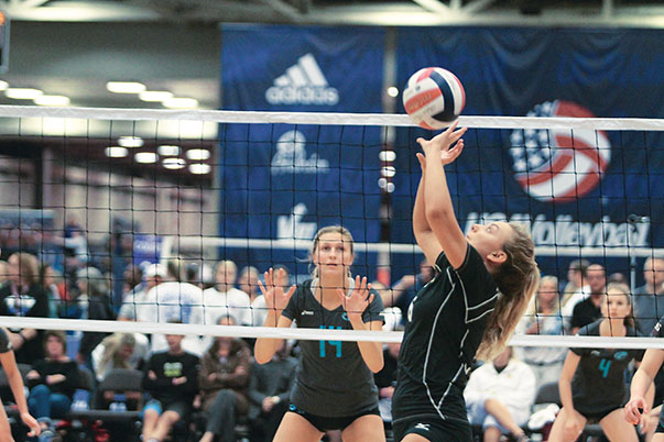 The USA Volleyball Girls' Junior National Championships represent one of the national governing body's three largest events, along with the Boys' Junior National Championships and the Open National Championships.