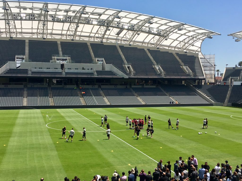 SportsTravel | Sites and Venues | Banc of California Stadium Opens in Los Angeles | SportsTravel